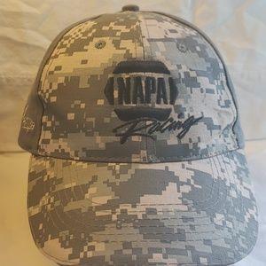 Napa racing camouflage hat.